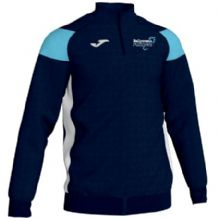 Ballymena Runners Club Joma Crewe III 1/4 Zip Sweatshirt Navy/Sky/White Youth 2019